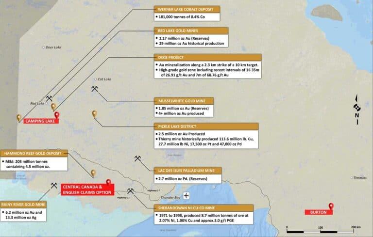Camping Lake Property Map 3