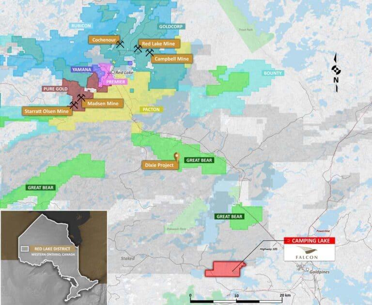 Camping Lake Property map 2 - Low